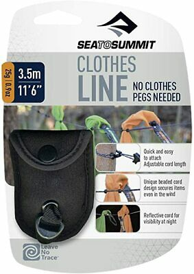 Sea To Summit CLOTHES LINE Super Lightweight, Compact, No Pegs Camp Washing Line • 11.99£