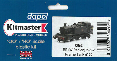 4MM Scale 00 Gauge DAPOL KITMASTER Kit C062 For G.W.R. 61xx Class Tank Engine  • 12.25£
