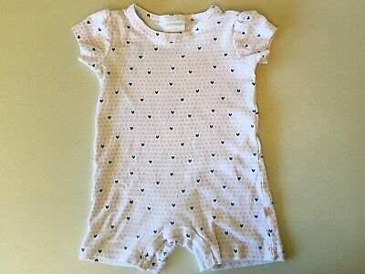 AU4 • Buy Marquise Romper Size 0 (6-12 Months) Heart Design