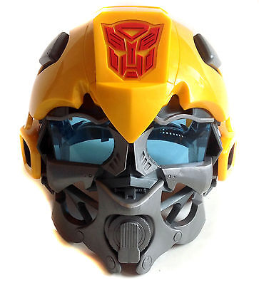 £39.99 • Buy Transformers BUMBLEBEE Roleplay Full Head Costume Helmet Mask With SOUND FX Toy