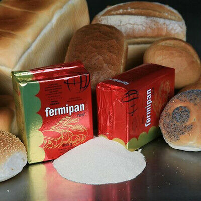 Fermipan Red 10g To 500g INSTANT Dried Yeast Bakers Bakery Bread  EXP 03/2022 • 2.89£