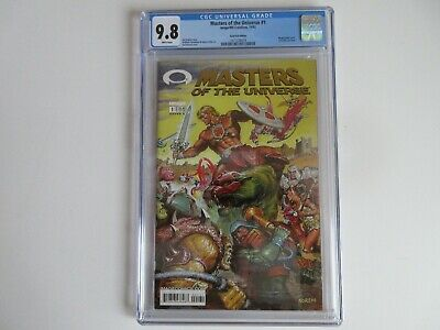 $89.99 • Buy Masters Of The Universe #1 Gold  CGC 9.8 White Pages