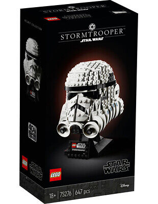 AU89.99 • Buy LEGO Star Wars Stormtrooper Helmet 75276