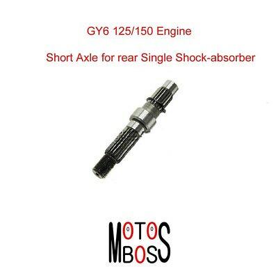 $16.60 • Buy Short Rear Wheel Axle For Chinese GY6 125/150 Scooter Rear Single Shock-absorber