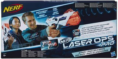 £29.50 • Buy Nerf Laser Ops Pro AlphaPoint 2-Pack Laser Tag-Blaster With Light & Sound Effect