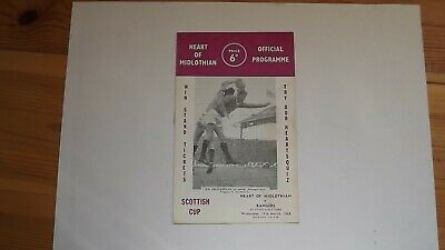 £2.75 • Buy Football Programme Hearts V  Rangers - Fergie On Cover Playing For Rangers 1968