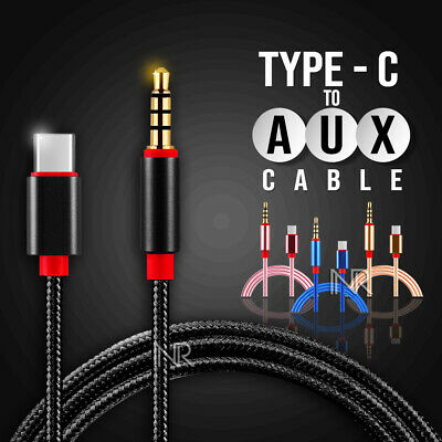 AU6.39 • Buy Type C USB-C To 3.5mm Male Audio AUX Cable Adapter For Car Stereo Samsung Huawei