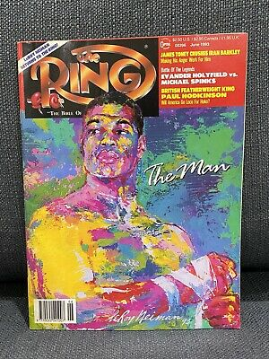 $9.88 • Buy THE RING BOXING VINTAGE MAGAZINE RIDDICK BOWE June 1993 XLNT UNREAD HOFer