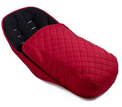ICandy Orange Duopod Footmuff / Liner In Magma Red • 89£