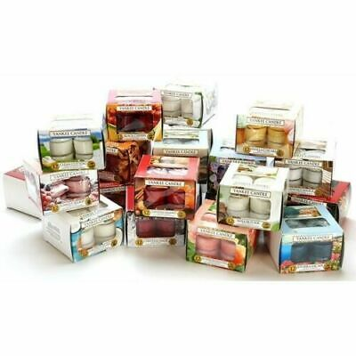Yankee Candle 12 Scented Tea Lights - Choose Your Own Fragrance - Fast Dispatch • 6.99£