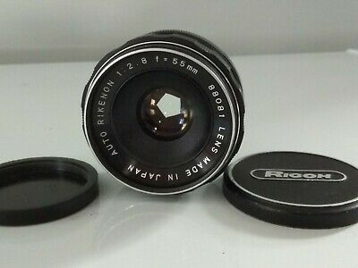 $ CDN65 • Buy Rikenon Auto 55mm F/2.8 Lens (M42)