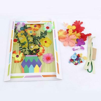 Preschool Education Arts And Crafts Button Bouquet Practical New Photo Frame KS • 3.48£