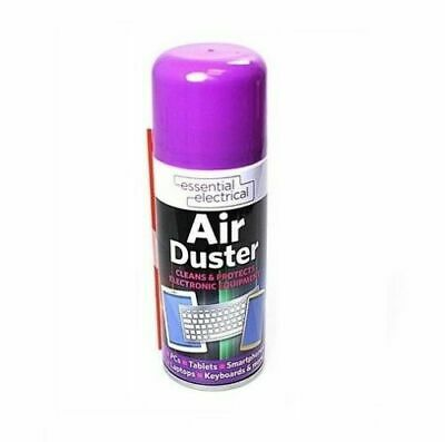 200ml Compressed Air Duster Cleaner Can Laptop Keyboard Keypad Mouse Printers • 5.49£
