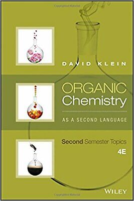 $14.99 • Buy Organic Chemistry As A Second Language Second Semester Topics 4th Edition By Dav