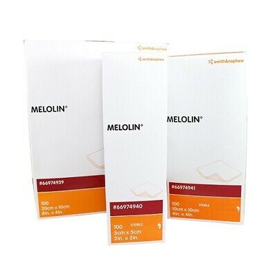 £3.95 • Buy Melolin Wound Dressing Pad | All Sizes | Various Qty | Free Post | Uk Pharmacy