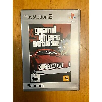 AU10 • Buy Grand Theft Auto III. Playstation 2 Game. PS2