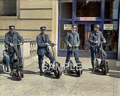 $6.77 • Buy 1917 Us Post Office Autoped Scooters Photo