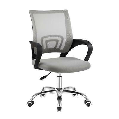 AU56.37 • Buy Artiss Office Chair Gaming Chair Computer Mesh Chairs Executive Mid Back Grey