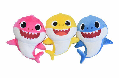 $29.99 • Buy Baby Shark 6 Inch Set - Mommy, Daddy & Baby Shark Plush Toys