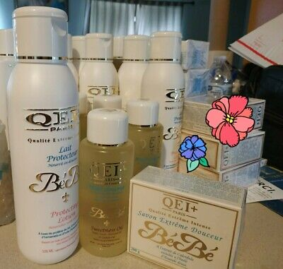 $ CDN95.14 • Buy QEI +Paris Baby Body Milk 500ml Set With Sweet Almond Extract( Lotion,oil,soap)