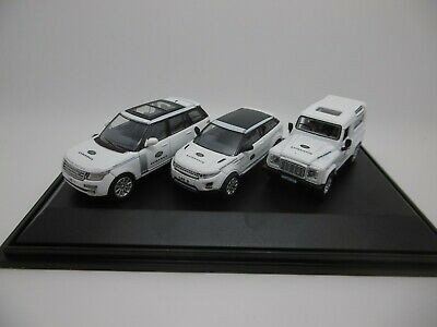 Oxford Land Rover Experience 3 Car Set 1-76 Scale 76set59 SALE • 16.95£
