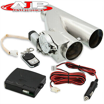 $ CDN107.33 • Buy Universal 2.5  65mm Electric Exhaust Header Catback Downpipe Cutout Value Kit