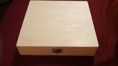 $9.99 • Buy Wooden Box With Clasps