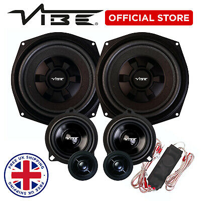 Vibe Optisound Car Audio Front Speaker Upgrade Kit For BMW F20 1 Series Coupe • 299.99£
