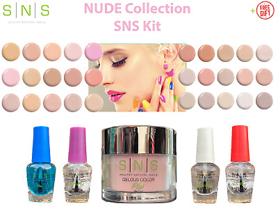 AU89.95 • Buy SNS Dipping Nail DIY Kit NUDE COLLECTION NC Dip Powder System 5-Piece SETs +FREE