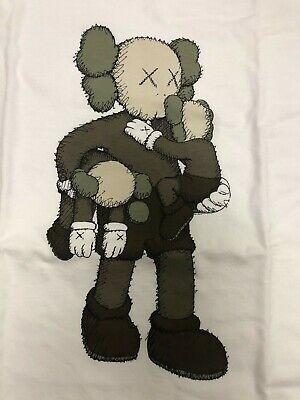 $69.99 • Buy Kaws X Uniqlo Summer 2019 Companion And BFF White Clean Slate Tees US Size 3XL