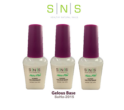 AU24.95 • Buy SNS GELOUS BASE Prebonded Gel Dipping Nail Powder System Professional Use