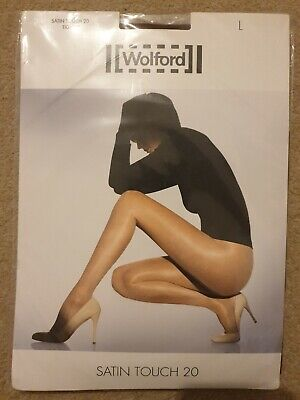 Wolford Satin Touch 20 Tights Size L • 13.99£