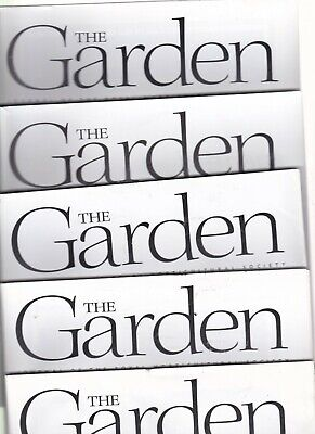 £3.95 • Buy Various Issues Of THE GARDEN Magazine RHS Journal January 2002 To December 2006