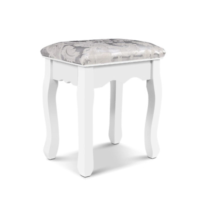 AU41.54 • Buy Artiss Dressing Stool Bedroom White Make Up Chair Living Room Fabric Furniture
