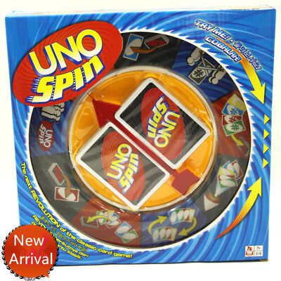 AU19.95 • Buy Board Game UNO SPIN Revolution Kid Adult Educational Toy Hot Fun Party Fun Game