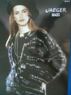 JAEGER Knitting Pattern 5732 - Ladies Mohair Cardigan 32 -42 - Not A Copy • 2.20£