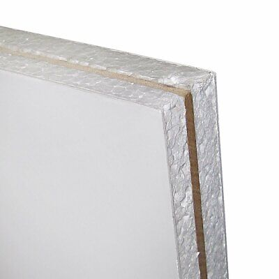 £40.50 • Buy White PVC UPVC Door & Conservatory Replacement Panels 20mm, 24mm, 28mm 750x740mm