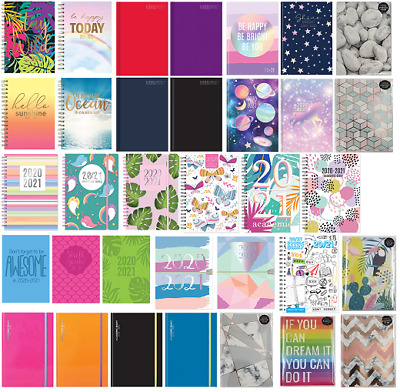 2020 2021 A5 Size Academic Mid Year Week To View Student Teacher Diary Planner • 2.99£