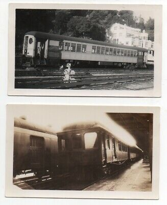 $31.99 • Buy  Two 1939 Photos Of The N.W.P. Northwestern Pacific Train At Sausalito CA