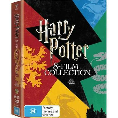 AU56.70 • Buy HARRY POTTER : 8-Film Collection Limited Edition : NEW DVD Box Set