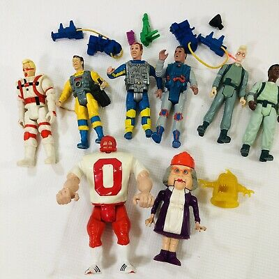 AU162.11 • Buy Vintage GHOSTBUSTERS Ray Guns Real Ghostbusters Set Egon Peter Ray Winston Loose