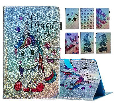 AU29.98 • Buy For Kindle Paperwhite 1234 Cartoon Smart Kickstand Folio Magnetic Case Cover