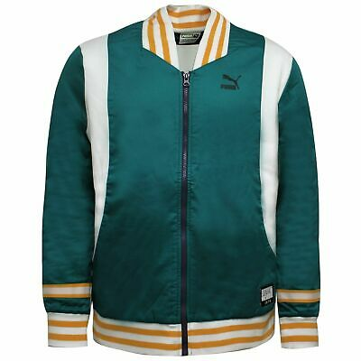 Puma X Clyde Bomber Jacket Clyde So Fly Zip Up Track Top 572477 90 • 34.99£