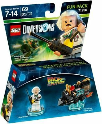 AU28.99 • Buy Brand New Sealed Lego Dimensions Back To The Future 71230 Doc Brown Time Train