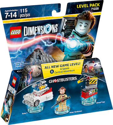 AU44.99 • Buy Brand New Sealed Lego Dimensions Ghostbusters 71228 Ecto 1 Car + Ghost Trap