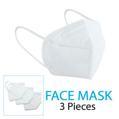AU10.99 • Buy 3 X KN95 P2 Particulate Respirator Face Mask Anti Dust Protection Mouth Dust AU