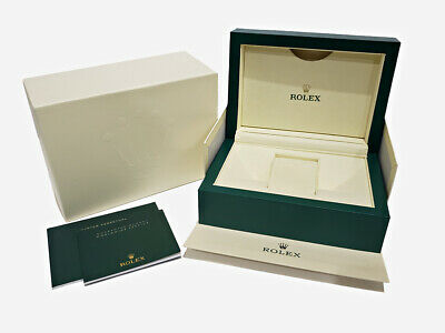 $ CDN290.71 • Buy OEM ROLEX Green Watch Storage Case & Outer Box For Submariner Oyster W/ Booklets
