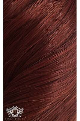 $252.57 • Buy Mahogany - Deluxe 20  Seamless Clip In Human Hair Extensions 200g