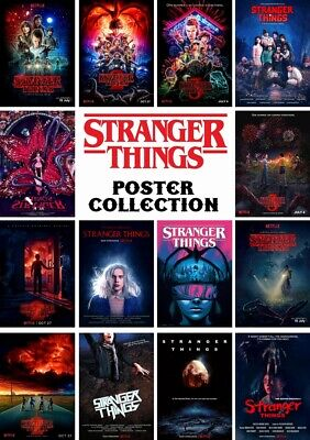 AU9.95 • Buy Stranger Things - Tv Series Posters - High Quality Photo Poster - Gloss Prints