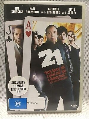 AU13 • Buy 21 KEVIN SPACEY LAWRENCE FISHBURNE GAMBLING Action Adventure Movie DVD